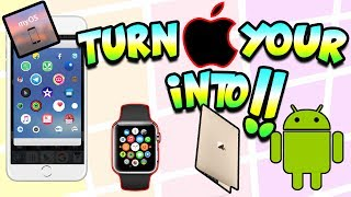 Convert Your IOS Device Into Android,Mac OS X And Apple Watch..(NEW METHOD)(2017)!!! MYOS APP!!