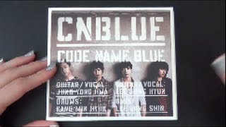 Unboxing CNBLUE 3rd Japanese Studio Album CODE NAME BLUE [Limited (CD+DVD) Edition]