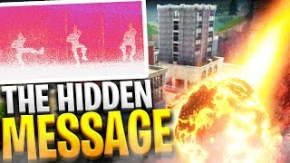 THIS IS WHY TILTED TOWERS DID NOT EXPLODE (Hidden Message?!) - Fortnite: Battle Royale