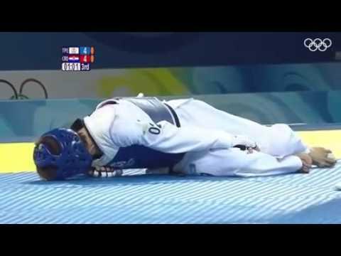 The most emotional olympic taekwondo moment. 2008