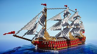 Minecraft Timelapse - Santisima trinidad + download [Defroi's ship n°13]