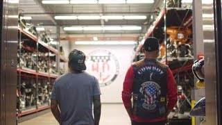 TJ Dillashaw and Cowboy Cerrone Tour Harley-Davidson Museum
