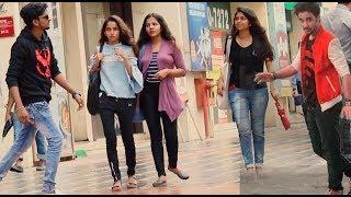 RAGHAV SLOW MOTION DANCE PRANK ON CUTE GIRLS | Pranks by B4Bachao | Pranks in india