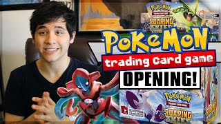 OVERDRIVE SMASH! | Roaring Skies Booster Box Opening PART 1!