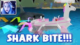 ROBLOX SHARK BITE WITH THE GANG!