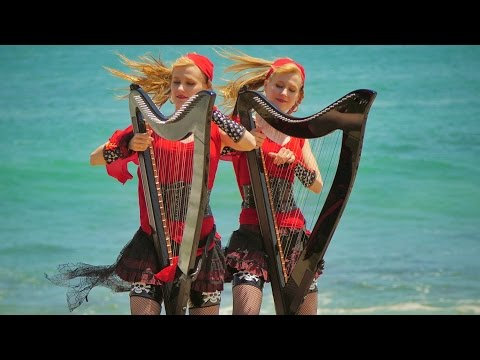 Xxx Mp4 PIRATES Of The CARIBBEAN Medley Harp Twins Camille And Kennerly 3gp Sex