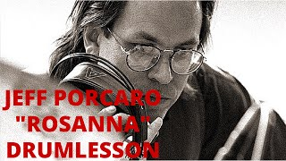 Jeff Porcaro Rosanna Drum Lesson