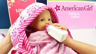 New American Girl Bitty Baby Doll and Dolls Clothes for Babies & Kids New Fun Factory Family Member