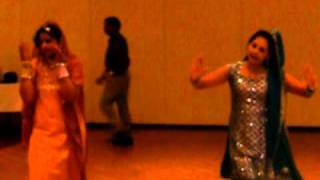 Ruby & Vijeya  Preforming At  Talgu Night -  MGI -