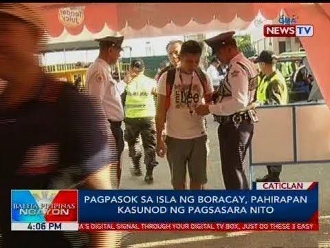 Xxx Mp4 BP Pagpasok Sa Isla Ng Boracay Pahirapan Kasunog Ng Pagsasara Nito 3gp Sex