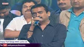 Bandla Ganesh Funny & Emotional Speech @  Temper Audio Launch Live - Jr. NTR, Kajal Aggarwal