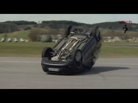 Citroen Nemo rolls over in Which tests