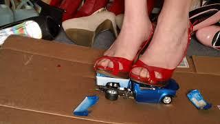 model truck crush