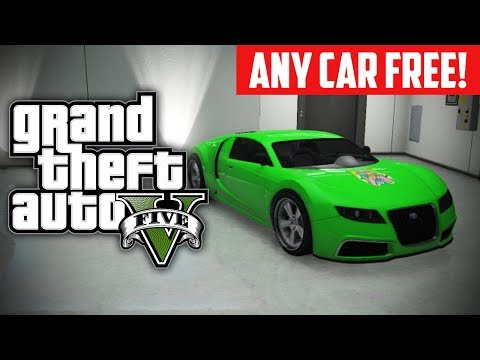 GTA 5 Online: How To Buy ANY Car For FREE! Free Rare Cars Glitch (GTA V)