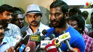 Radhika Sarathkumar and Radha Ravi removed from Nadigar Sangam ? - Vishal clarifies | Karthi, Nasser