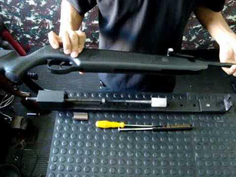 Instalação mola a gas Gas Ram SMS Airguns em Norica Dragon em menos de 10 min.