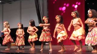 Hula Dance by Children