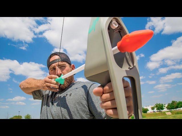 Nerf Bogen Trick Shots | Dude Perfect
