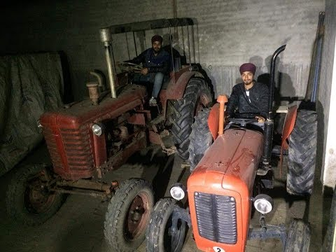 Old is gold || tractor power ||Messi Ferguson tafe 241
