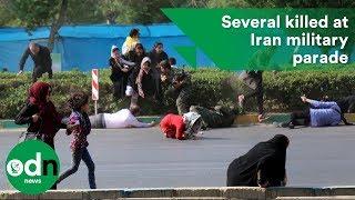 Several killed at Iran military parade
