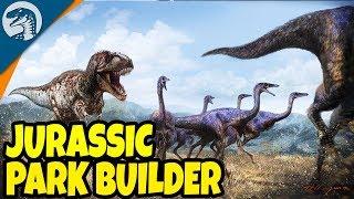 JURASSIC PARK SIMULATOR, 1,000,000,000 BC? PARK BUILDER & MORE | Prehistoric Kingdom Gameplay