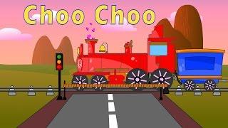 Choo Choo Train   Choo Choo Train Cartoons for Children   Toy Train Videos for Kids