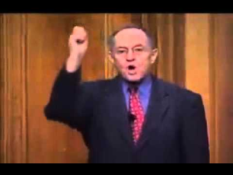 Alan Dershowitz Brilliantly Strikes down Anti Israel Question at Conference