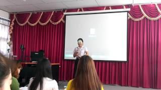 2016年4月24日 黎逸皇家大学学生参加汉语桥预选赛