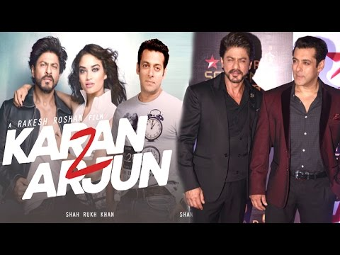Salman & Shahrukh Khan Announce Making of Karan Arjun 2 Movie