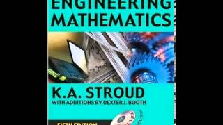 Engineering Mathematics 5th Edition By K.A Stroud - FREE EBOOK DOWNLOAD