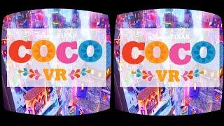 Disney Pixar COCO VR animation in cinemas 360 3D SBS Google Cardboard