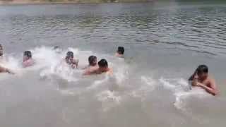 My brothers in Sitolokkha River