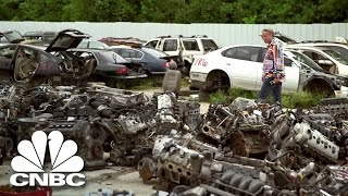 Finding A Fortune In Auto Salvage | Blue Collar Millionaires | CNBC Prime