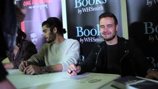 Behind the Scenes at the One Direction Secret Signing for #WhoWeAreBook