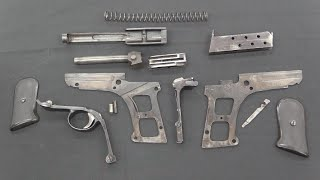 The Jager Pistol and its Complex Reassembly