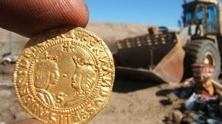 Ship Full of Gold Unearthed in Namibian Desert