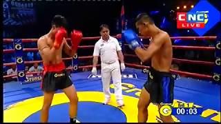 ឃីម បូរ៉ា Vs ឆ្មូកផេត, Khim Bora, Cambodia Vs Chhmuokphet, Thai, Khmer Boxing 14 Dec 2018