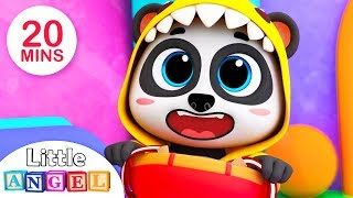 This is the Way with Baby Panda , 3 Little Kittens, No No Safety Tips | Kids Songs by Little Angel