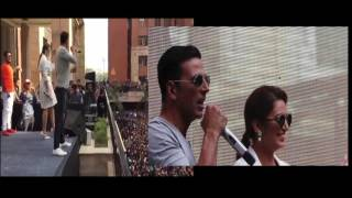 Akshay Kumar in Amity University Noida for Jolly LLB 2 promotion
