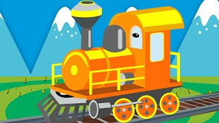 Learn colors with Banana Train for Children | Colors for Kids to Learn with Trains for Toddlers
