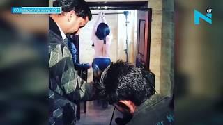 OMG! TOPLESS Rakhi Sawant gets beaten by belt