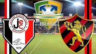 Joinville 2 (3) x (4) 1 Sport (19/04/2017) Copa do Brasil 2017 - 4° Fase jogo de volta [PES 2017]