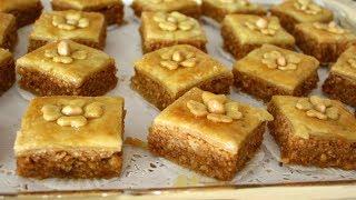 حلويات العيد/ بقلاوة اكتر من رائعة اقتصادية بالكاوكاو _الفول السوداني بكمية وفيرة بمذاق مميز جدا