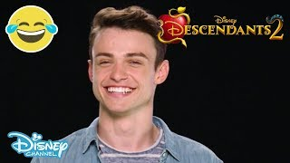 Descendants 2 | Thomas Doherty: This or That? | Official Disney Channel UK