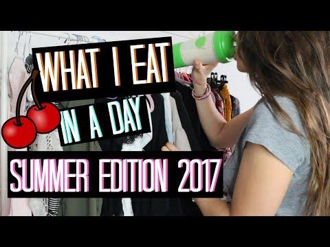 WHAT I EAT IN A DAY #3 COSA MANGIARE PER ABBRONZARSI VELOCEMENTE E TORNARE IN FORMA! | Adriana Spink