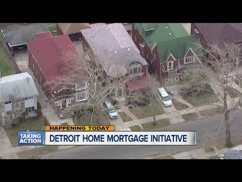 Detroit home mortgage initiative