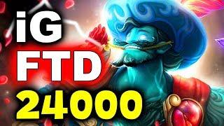 IG vs FTD - 70 MIN 24k GOLD AMAZING GAME! - TI8 CHINA QUALS DOTA 2