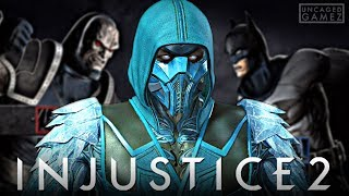 Injustice 2: ALL Sub-Zero Intro Dialogues With MK VS DC Universe Characters!!