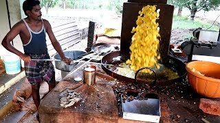 King of Banana Chips - kerala Nendran Banana Chips Making   Must watch