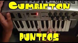 Cumbieton Punteos - Piano Midi Plus
